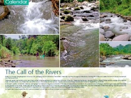 Call of the Rivers 2016 IDIS Calendar